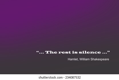 Shakespeare Famous Phrase