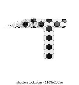 Abstract Vector Illustration Black White Ball Stock Vector Royalty