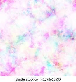 Sherbet Pastel Tie Dye Print