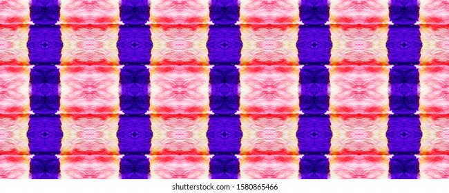 Shibori Pattern. Fuchsia Tie Dye Stripes. Violet Hippie Color. Amethyst Pattern Decoration. Lavender Hippie Style. Stripe Print. Purple Ikat Chevrons. Magenta Tie Dye Backdrop.