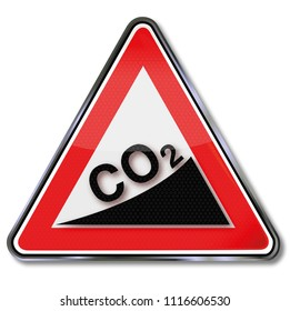 Shield with high CO2 increase