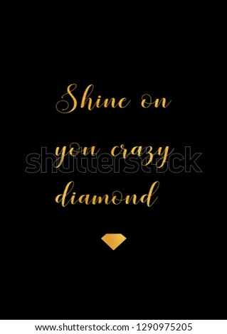Shine on you crazy
