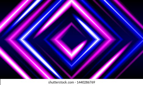 Shining neon background. Trendy colors, template design for posters, flyers, screen savers