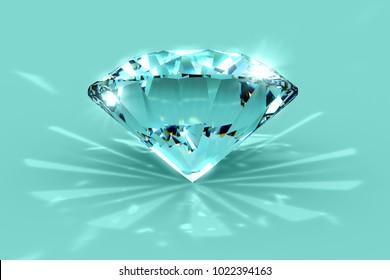 ORIENTAL DIAMONDS IN BLUES WALLPAPER BORDER