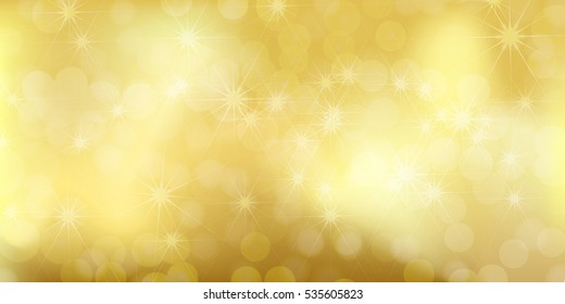 Shiny golden sparkling background. Useful for Christmas cards or luxury items background. Christmas design template
