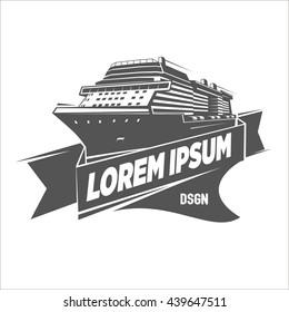 Ship Logo Template.