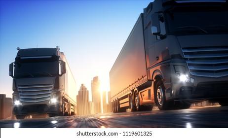 Shipping 3d Illustration