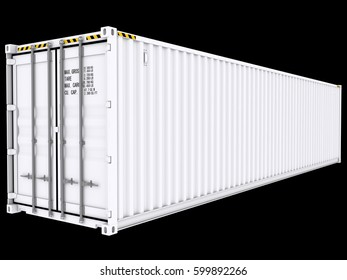 Shipping Container 3d rendering