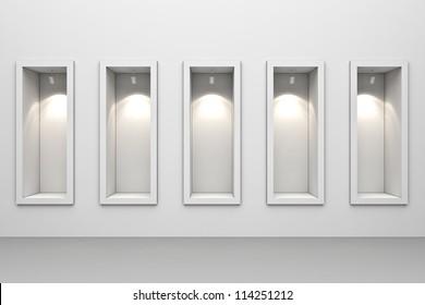 Schaufenster-Anzeige