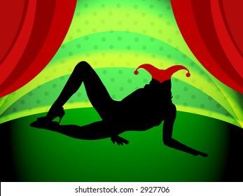 Charming clip clown sex