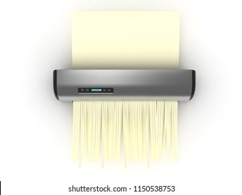 Shredder with yellow sheet - 3D Electronics Series