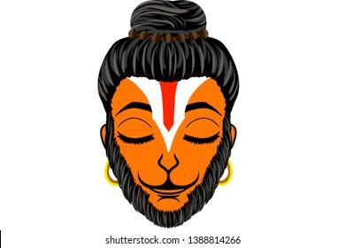 shri hanuman digital creations  lord hanuman digital painting