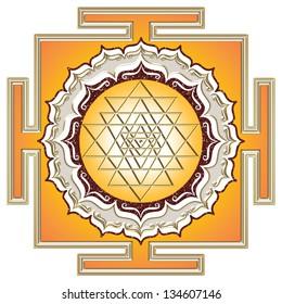 Shri Yantra - cosmic energy conductor