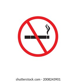 Sign for cant smoke in this place