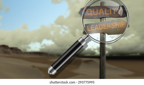 sign direction quality - leadership made in 3d software