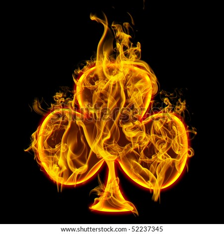 sign fire clover check all fireのイラスト素材 52237345 shutterstock