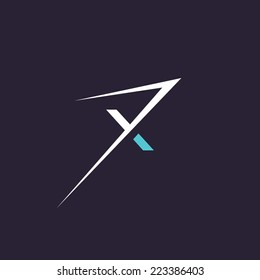 Sign of the letter X, Extreme sign Branding Identity Corporate logo design template Isolated on a dark background