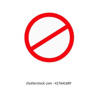 Signs prohibiting traffic