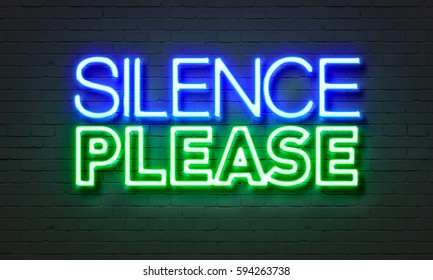 Silence Please Images Stock Photos Amp Vectors Shutterstock