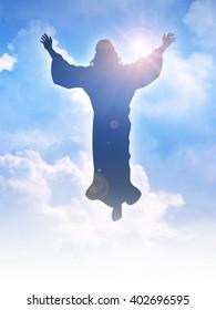 Jesus Silhouette Image...