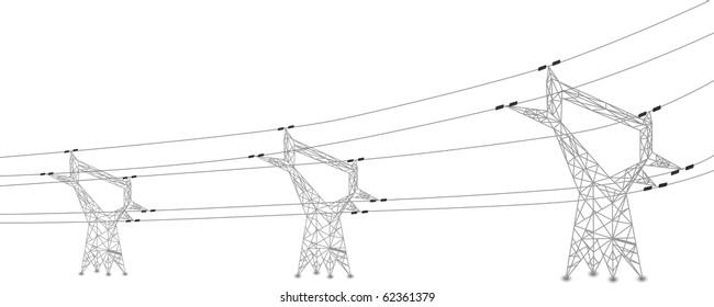 overhead power line images  stock photos  u0026 vectors