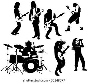 Rock N Rollのイラスト素材画像ベクター画像 Shutterstock