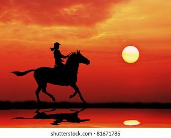 走る 女性 横のイラスト素材画像ベクター画像 Shutterstock