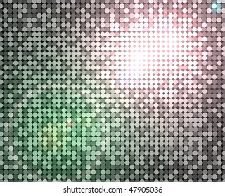 silver abstract dico background