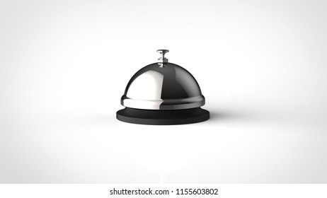 silver bell 3d rendering