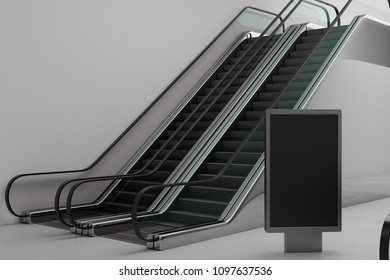 Escalator Mockup Images Stock Photos Vectors Shutterstock