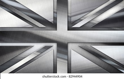 Silver Flag Of British