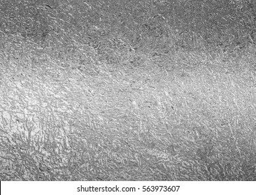 Silver foil background texture