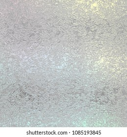Silver foil vintage background