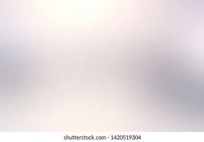 Silver light interactive pattern. White grey transition. Subtle plain abstract backgound. Blurry texture. Exquisite pearl glow illustration.