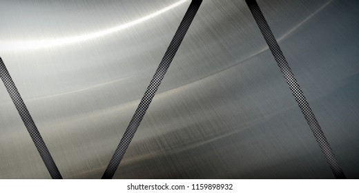 silver metal design background