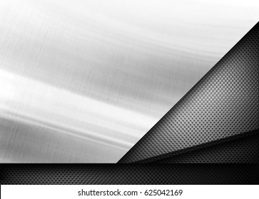 silver metal design background