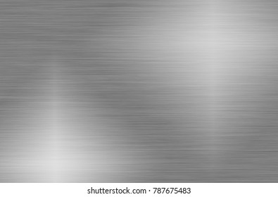Silver Metal stainless steel texture background