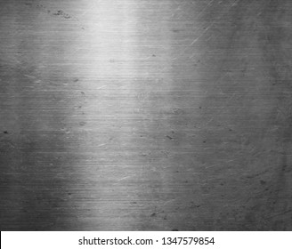 Silver metal texture or background