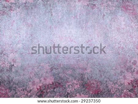 Silver Rose Background Stock Illustration