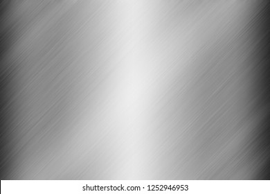 Silver steel plate texture background