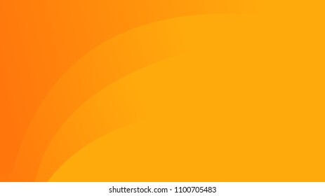 Simple abstract orange background with gradient waves
