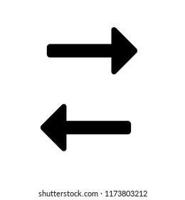 simple arrow icon set
