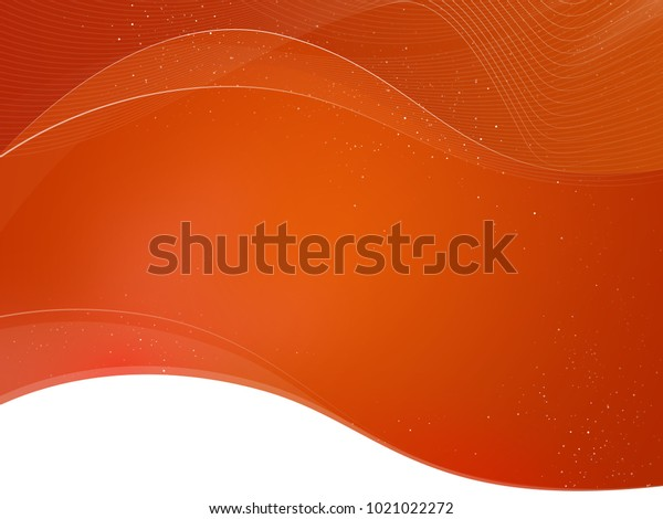 Simple Background Waves Bottom White Textarea Stock Illustration 1021022272