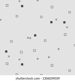 Simple black and white illustration. Abstract geometric background pattern