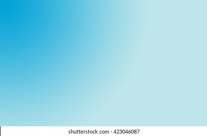 The simple blue shade background.