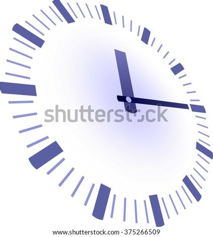 simple clock hands template stock illustration 375266509 shutterstock
