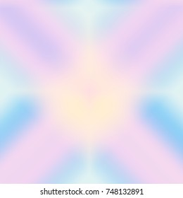 Pink Blue Colorful Abstract Paintings Art Stock Illustration