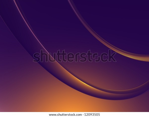 Simple Curved Lines-Background