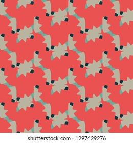 Simple  illustration. Abstract geometric background pattern