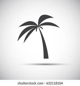 palm icon stock vector royalty free 659773885 shutterstock rh shutterstock com
